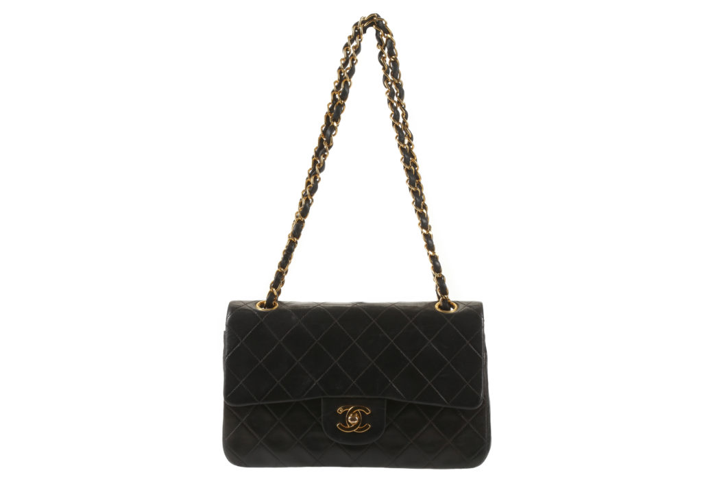 Chanel Small Black 2.55 Classic Flap Bag designer handbags