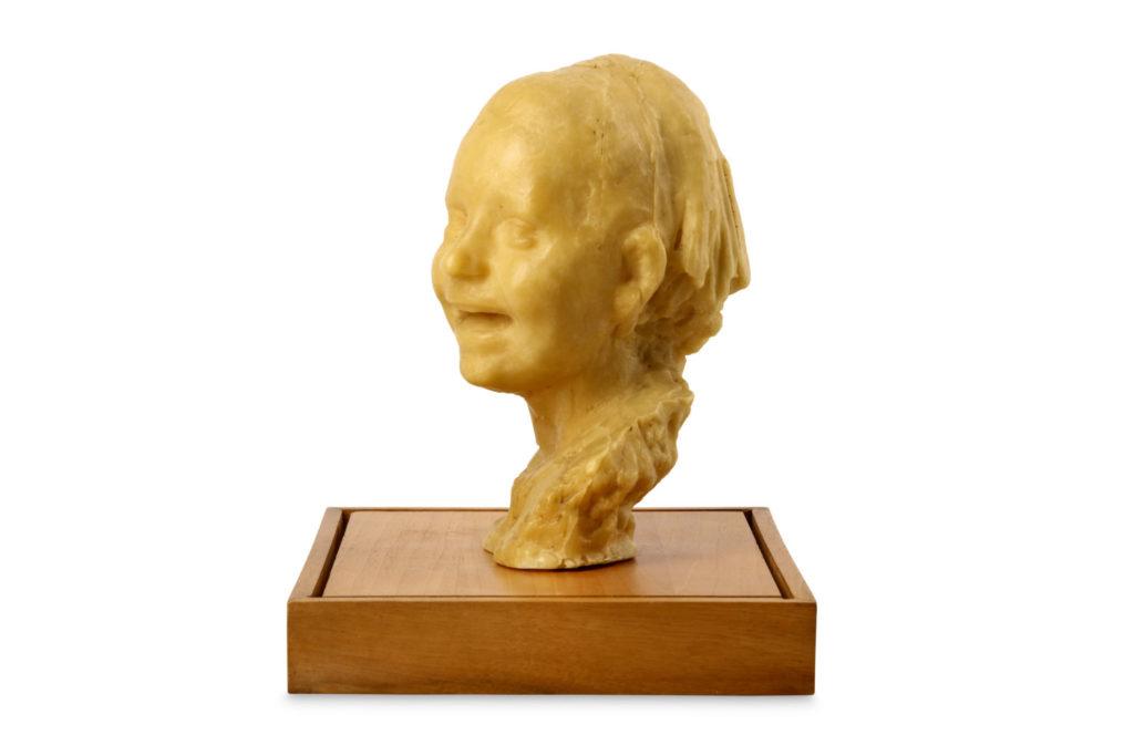Medardo Rosso wax head