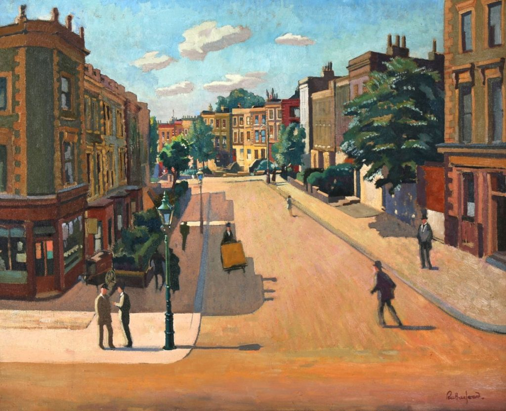 Harry Rutherford Camden Town Chiswick Auctions London