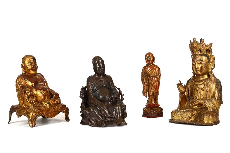 Chinese bronzes figurative sculptures