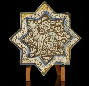 lustreware star pottery