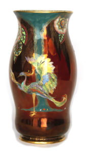 lusterware pottery
