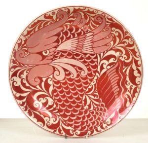 lustreware plate