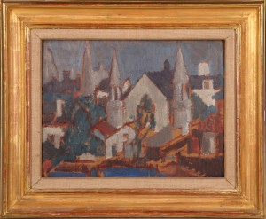 Church Dieppe - Margaret Morris circa 1922