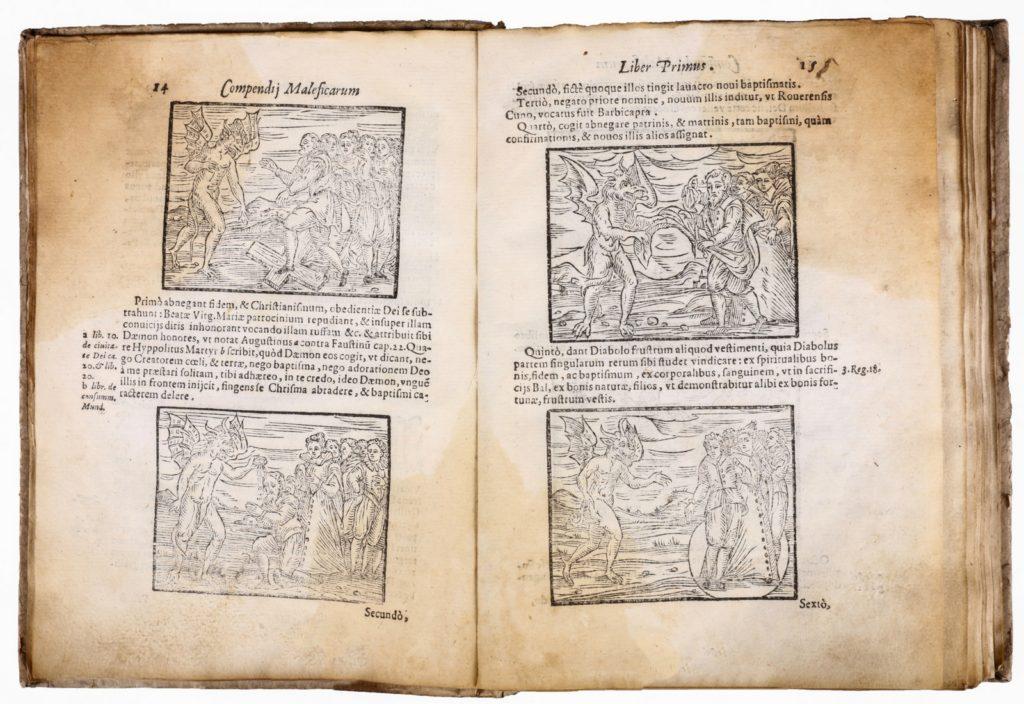 Compendium maleficarum Ambrosian Friar Francesco Maria Guazzo
