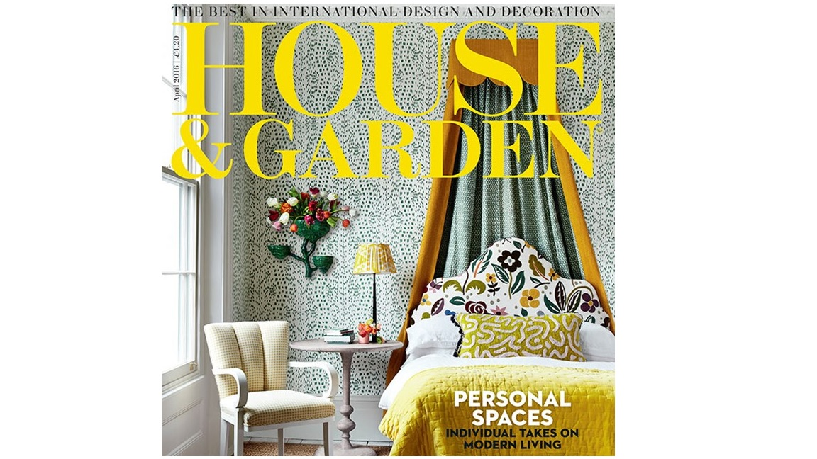 House & Gardens front cover