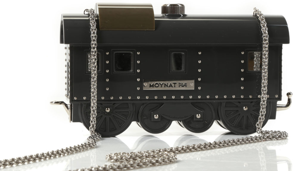 oynat x Pharrell Williams Black Plexiglass Wagon Bag