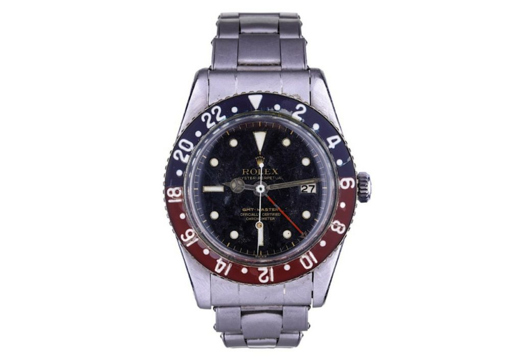 Rolex stainless steel GMT master