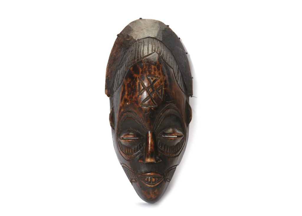 wood african tribal masks