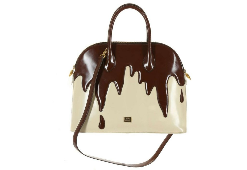 Franco Moschino 'Dripping Chocolate' handbag