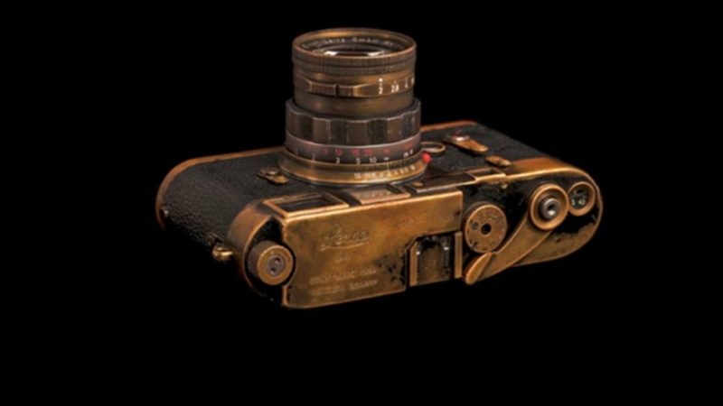 The Eyes of the 20th Century: A 'Magnum Photo Agency' Black Paint Leica M3