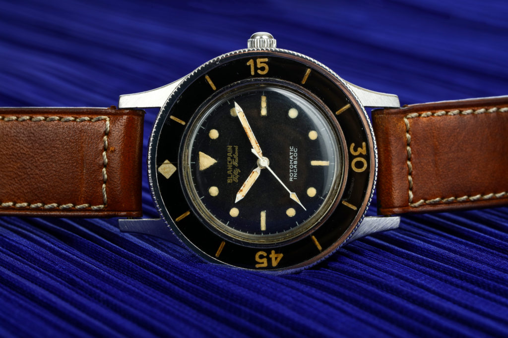 Diving Through Time - the Blancpain Fifty Fathoms