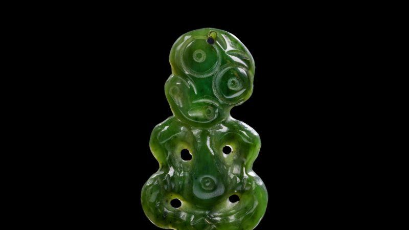 Green with envy: Maori Hardstone