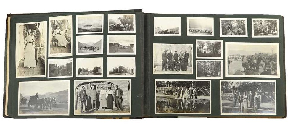 Three family photograph albums, 1903-17