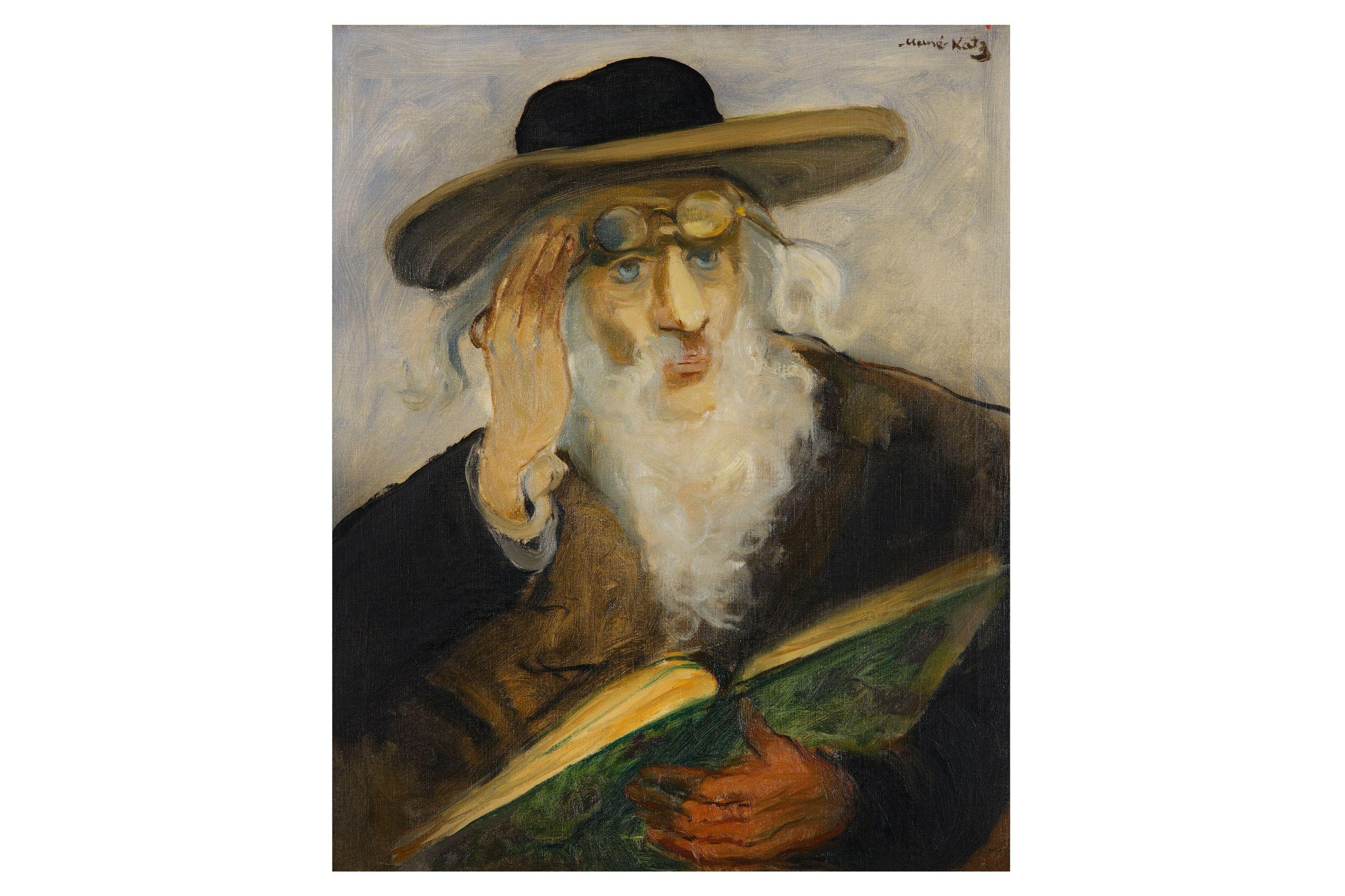 Mané-Katz, Rabbi Reading