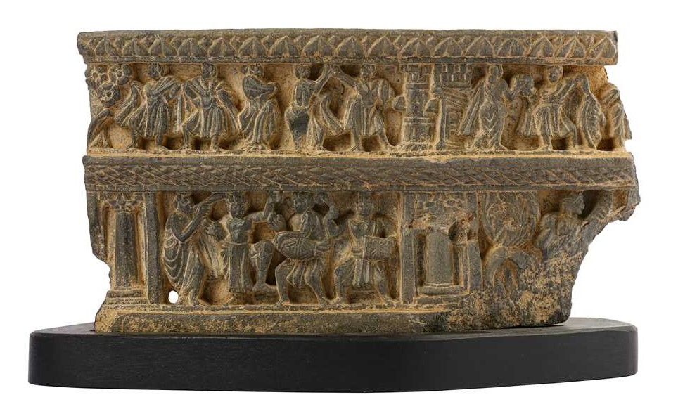 Grey Schist and Lotus: Buddhist Gandharan Art from the Moita Collection