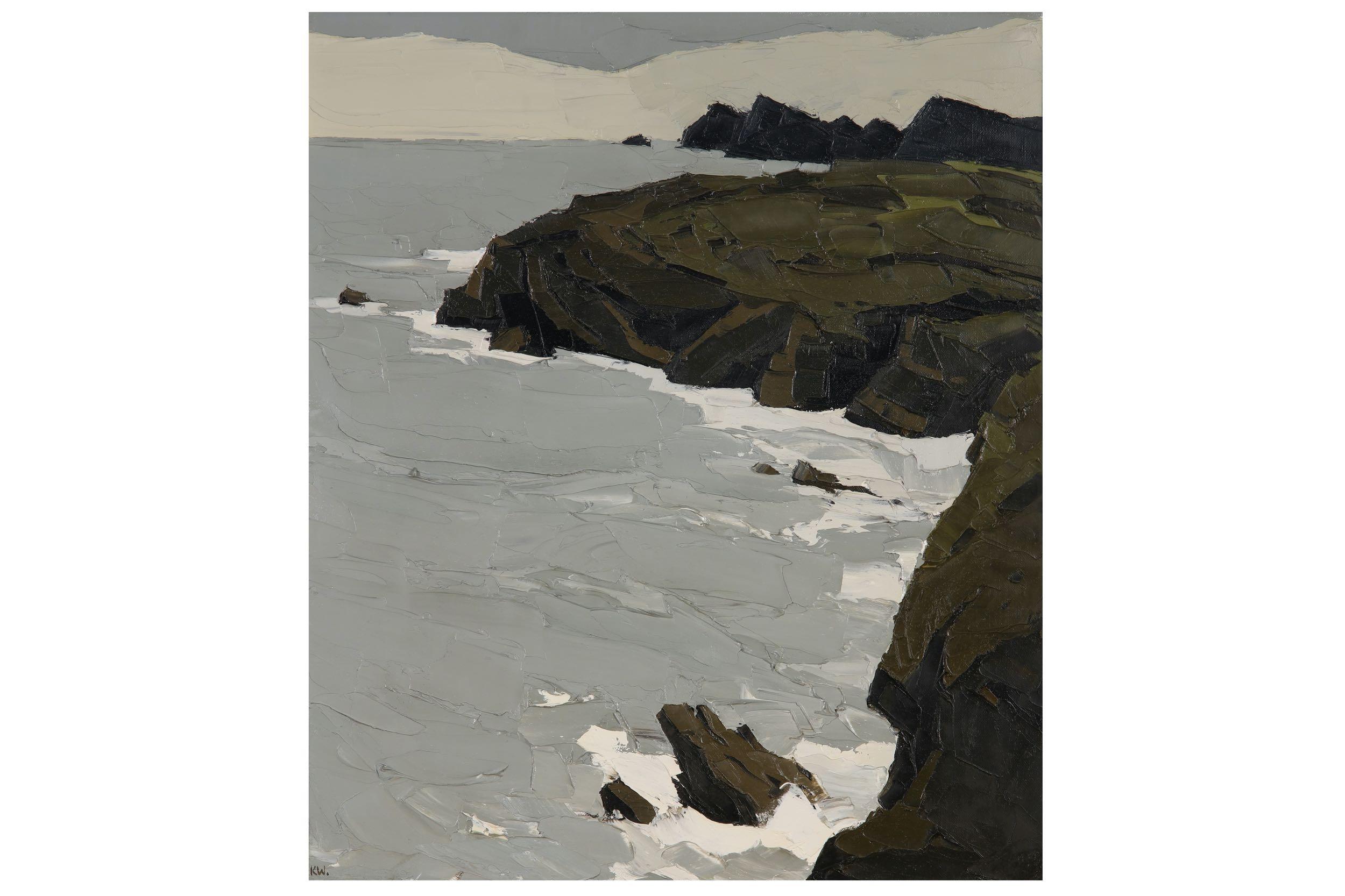 Sir Kyffin Williams, Coast at St Davids