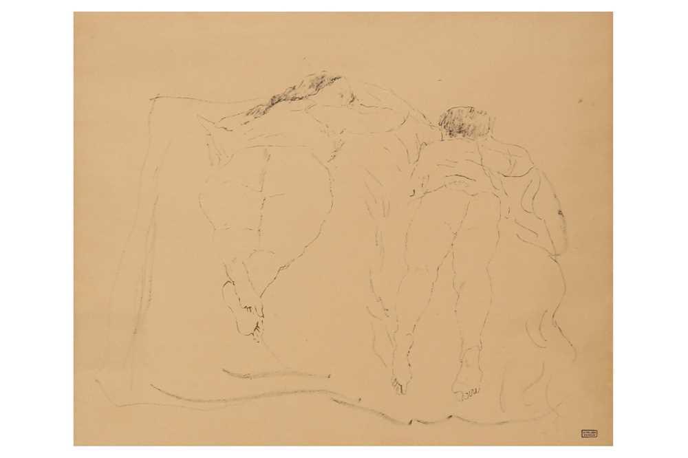 Jules Pascin, Deux femmes sur un lit