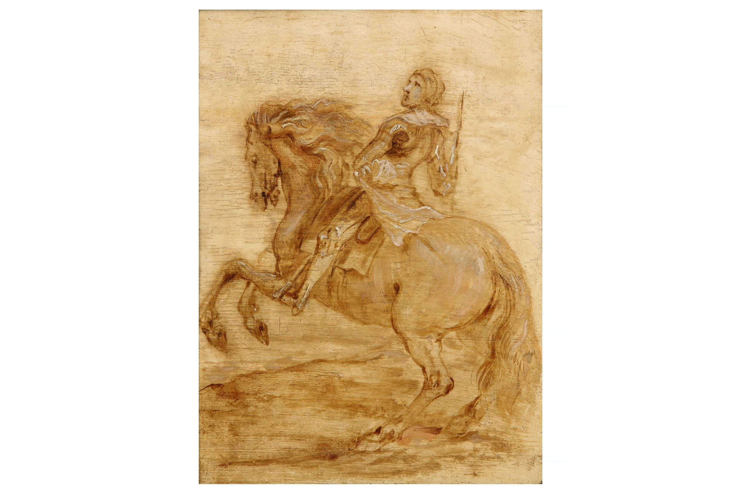 Circle of Sir Anthony Van Dyck, A Knight on horseback