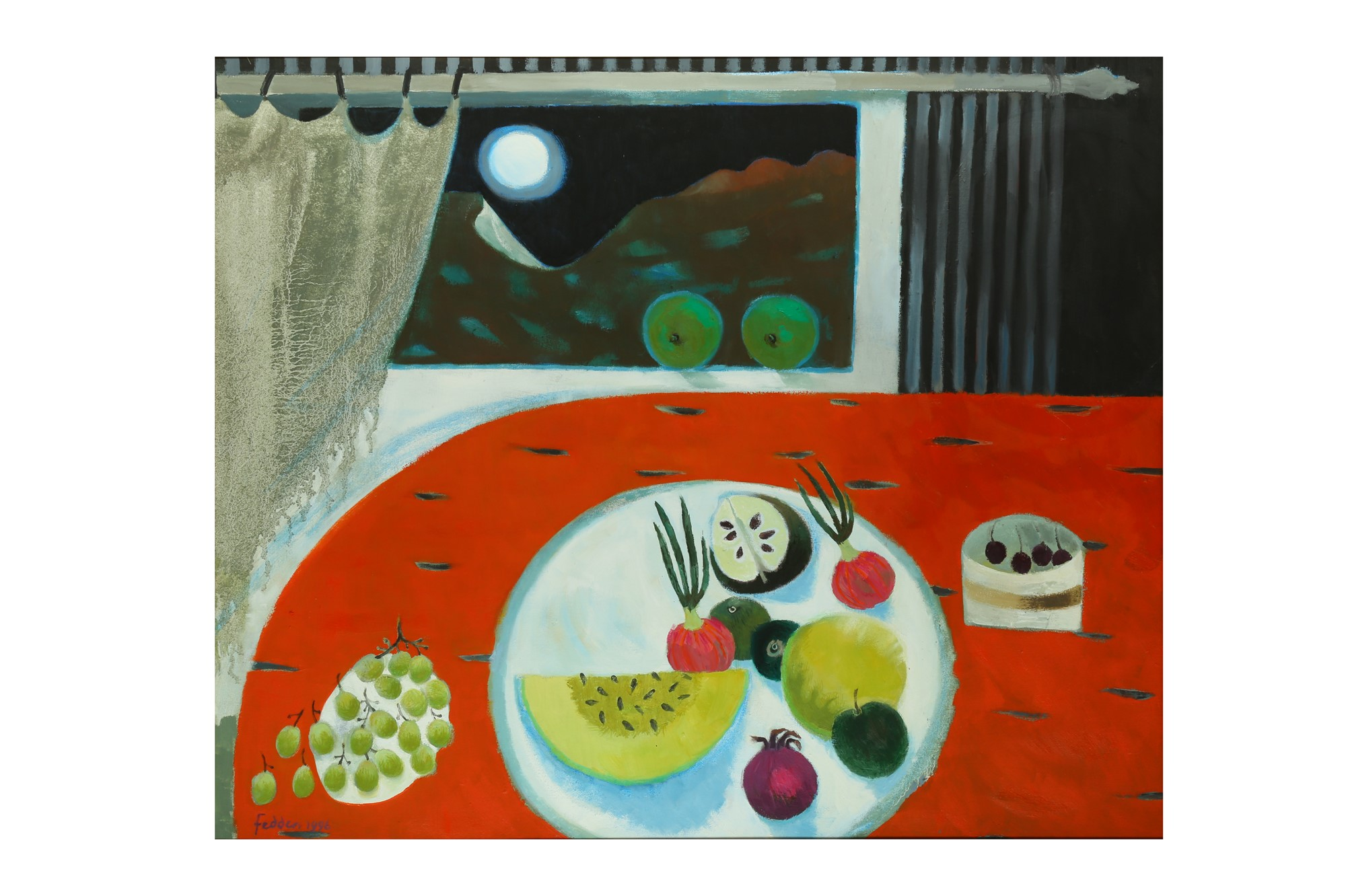 Marry Fedden, the Orange Table
