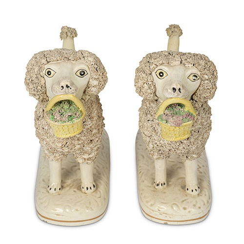 Interiors, Homes & Antiques, to include a private collection of Staffordshire Poodles