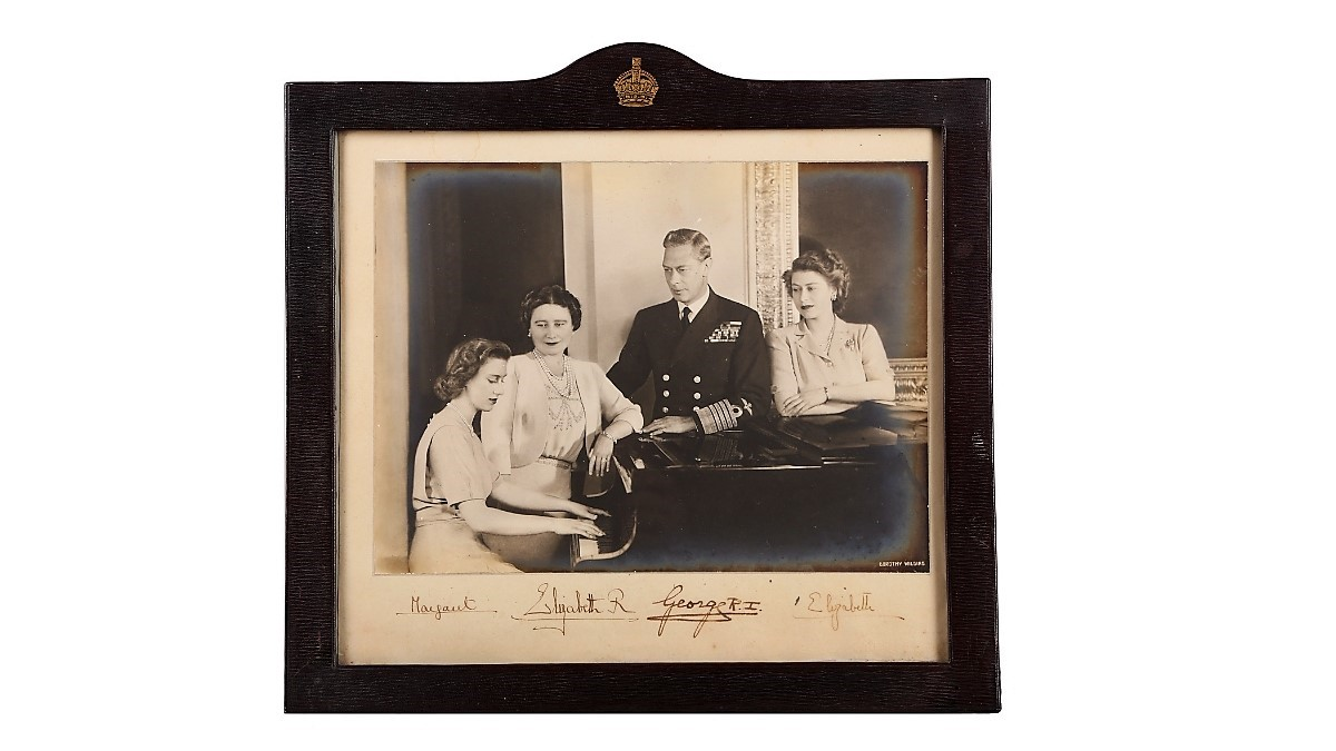 Signed Photograph of Royal Family
