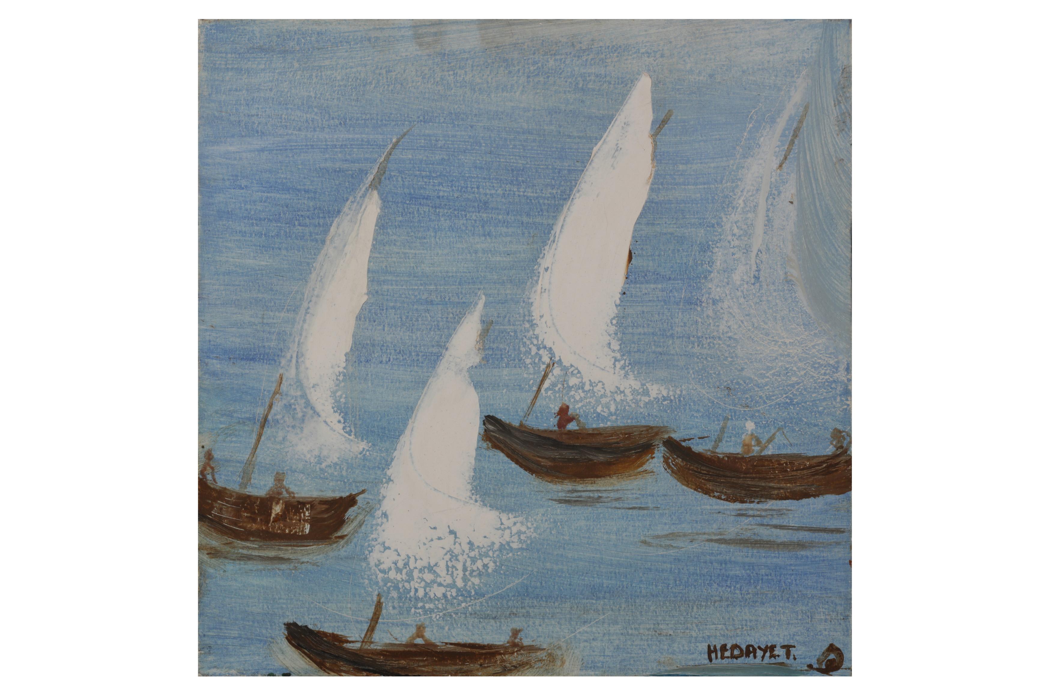 Boats by Hidayet Chiraz