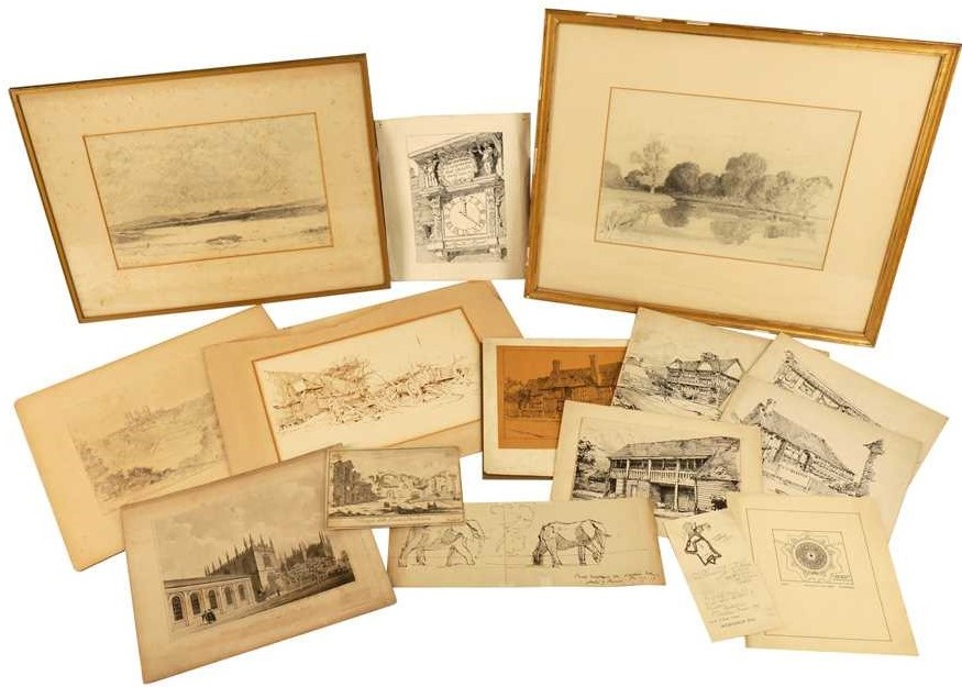 Lot 440. Archives of the Late Sir John & Austin Blomfield