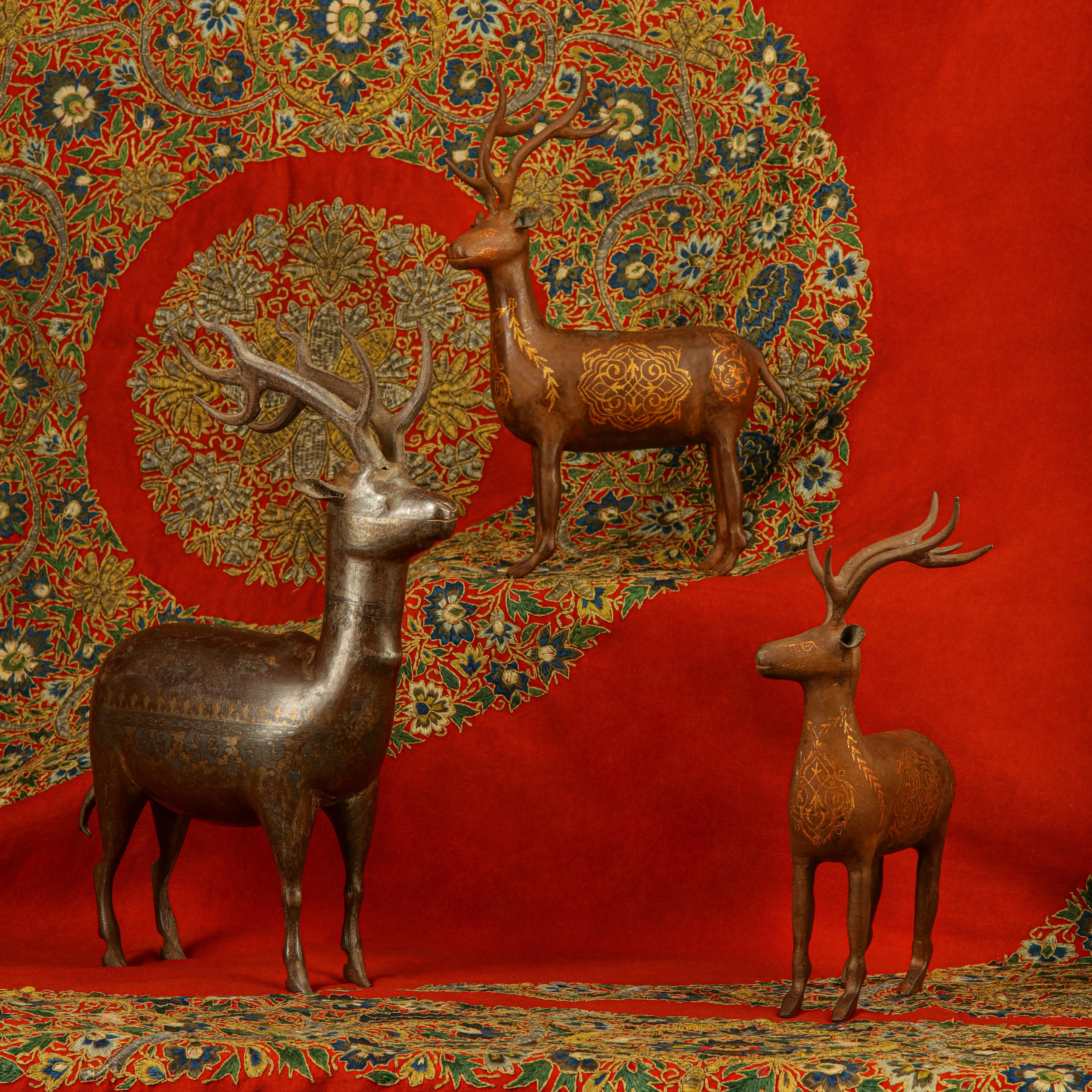The Arts of Iran: the Intriguing Origin of Gold-damascened Steel Animal Statues