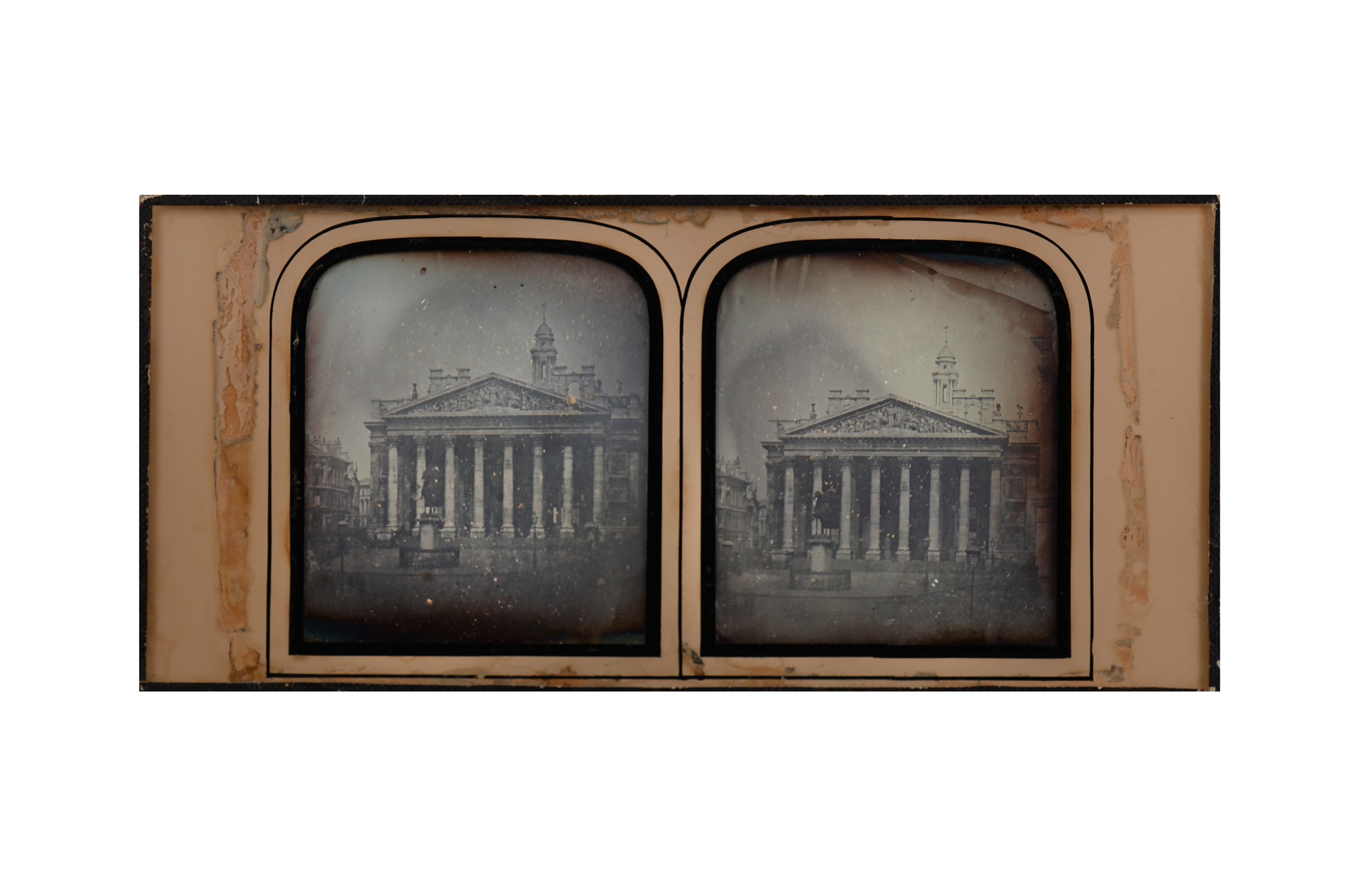 Daguerreotype Royal Exchange