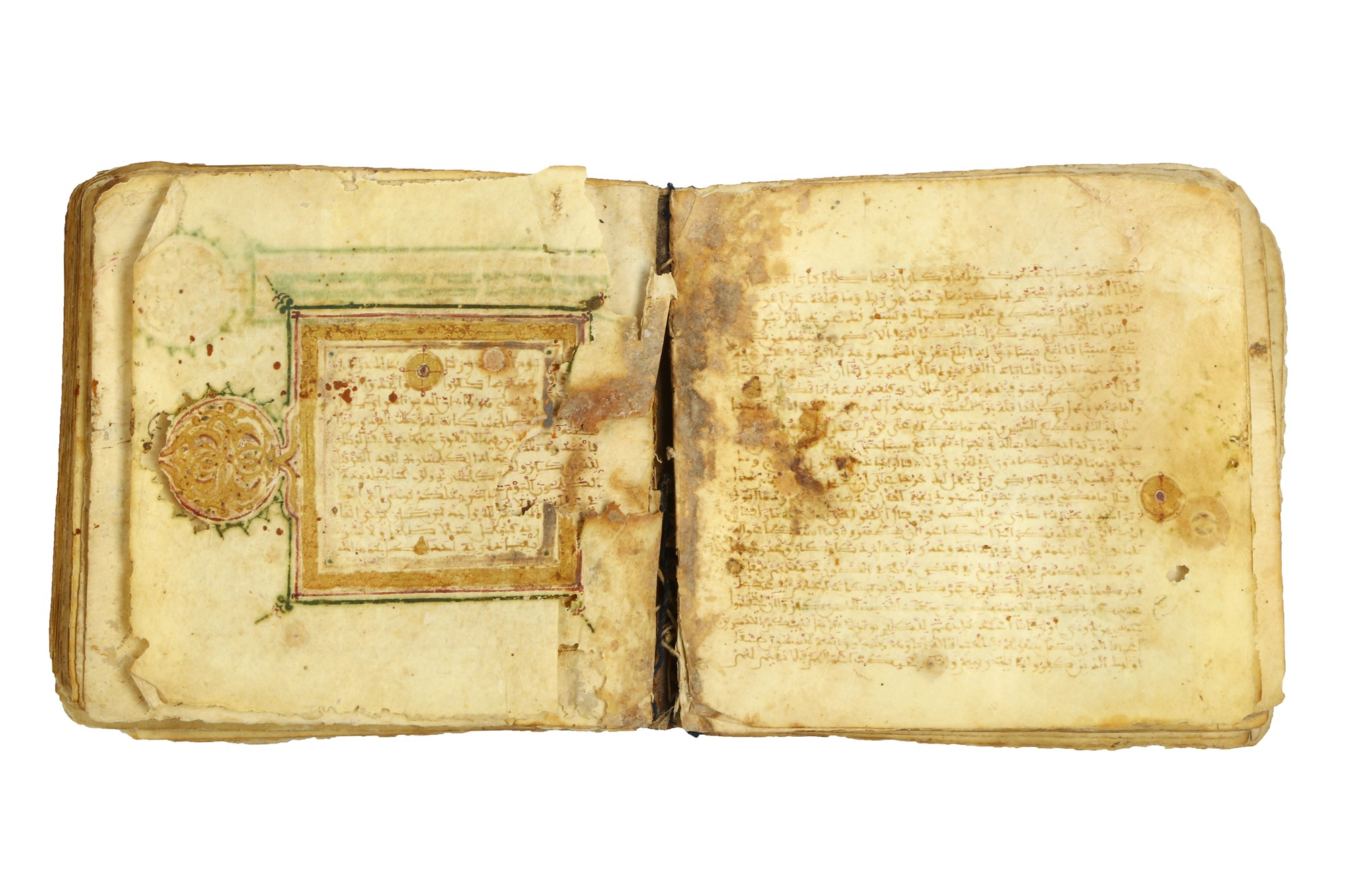 A Maghribi Qur'an, North-West Africa, 12th - 14th century