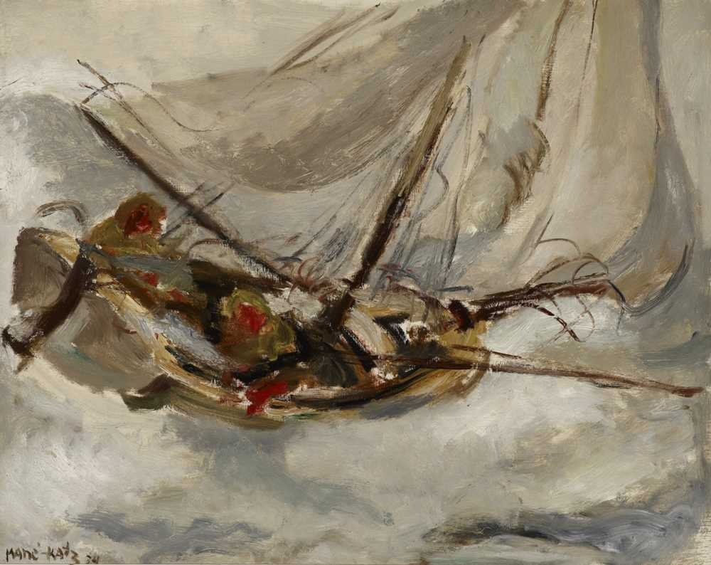 Lot 308, Mané-Katz, Seascape, £4,000-6,000