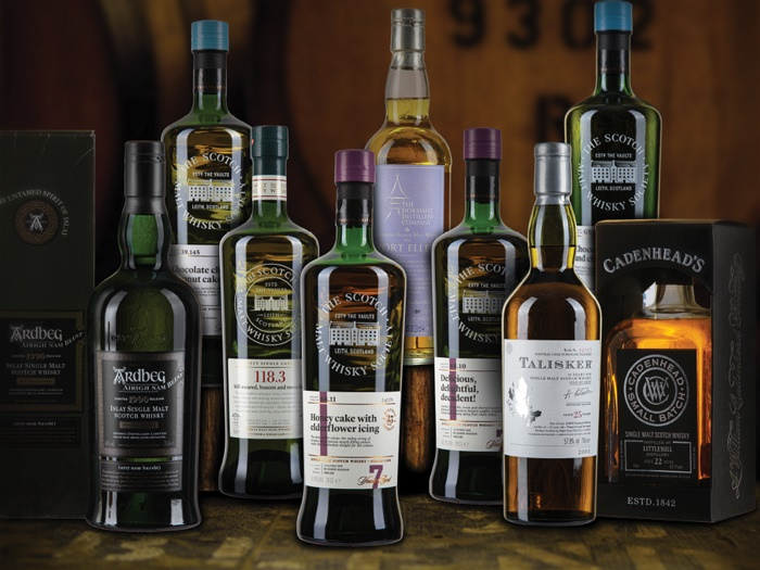 Wine & Spirits featuring the Private Collection of Martyn Jenkins AKA the Whisky Cyclist