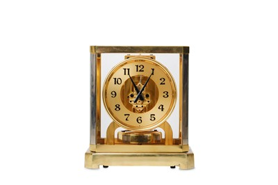 Lot 18 - A RARE EARLY JAEGER LECOULTRE LACQUERED BRASS...