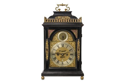 Lot 13 - A FINE EARLY 18TH CENTURY EBONISED AND GILT...