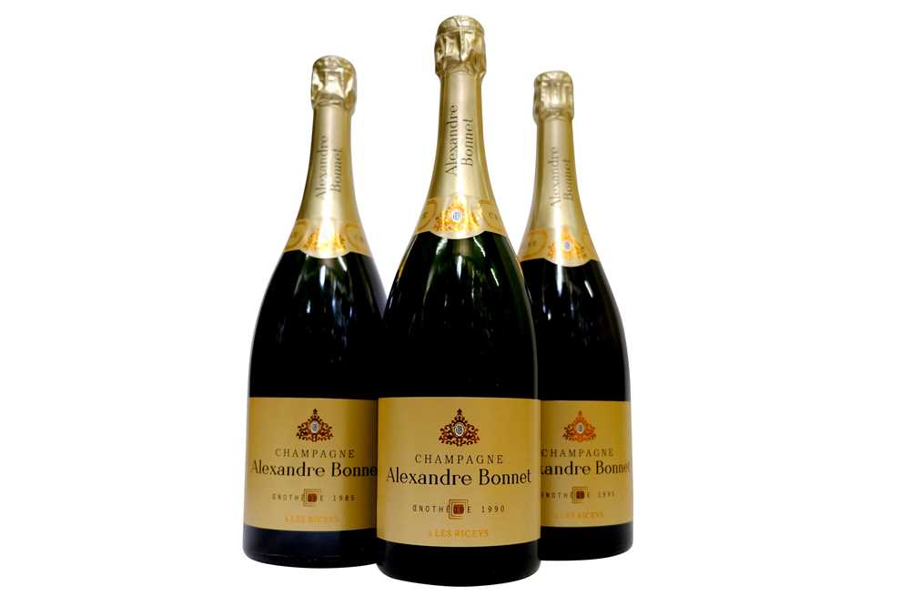 Lot 31-Magnums of Alexandre Bonnet Oenotheque