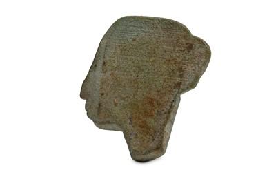 Lot 12 - AN EGYPTIAN INLAY ELEMENT Circa 1st Millennium...