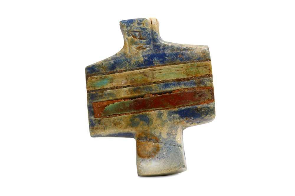 Lot 25 - AN EGYPTIAN DJED PILLAR FRAGMENT Circa 1st...