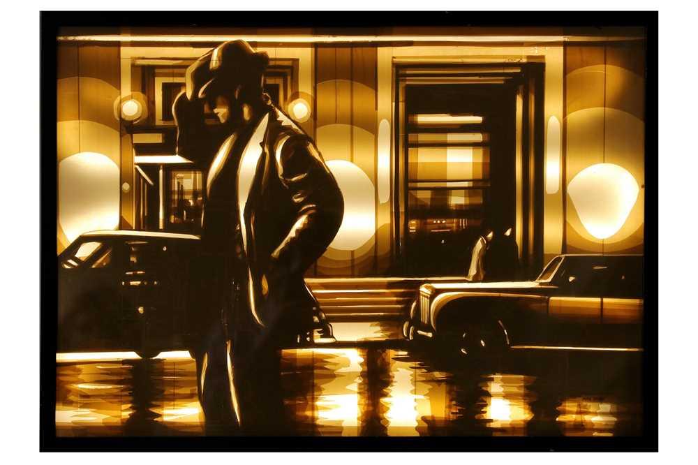 Lot 39-Max Zorn (Dutch), 'Untitled (Street Lights)'