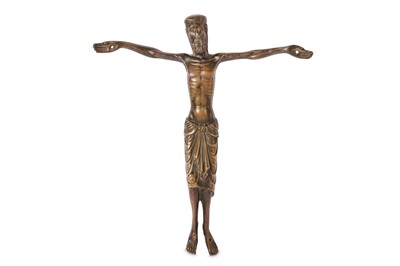 Lot 13-A ROMANESQUE STYLE BRONZE CORPUS CHRISTI, PROBABLY 19TH CENTURY