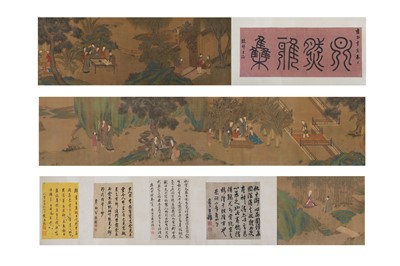 Lot 179-QIU YING (attributed to, 1482 – 1559).