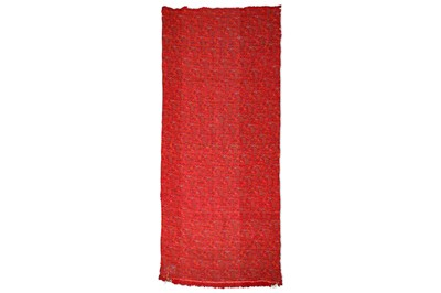 Lot 59 - A COMPLETE LENGTH OF UNCUT TERMEH SHAWL CLOTH