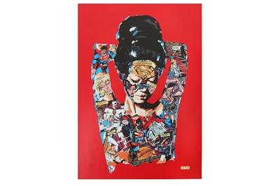 Lot 71-Sandra Chevrier (Canadian, b.1983) ,'La Cage Qui A Donne Sa Vie Pour Sauver L'Humanite'
