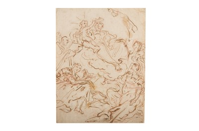 Lot 17-CIRCLE OF GIOVANNI ANTONIO PELLEGRINI (VENICE 1675 - 1741)