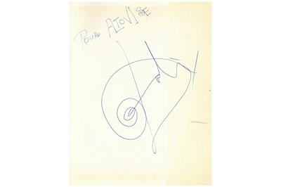 Lot 304-Dali (Salvador) Salvador Dali, ornately signed...
