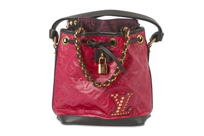 Lot 24-Louis Vuitton Cranberry Double Jeu Neo Noe