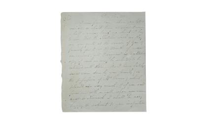 Lot 320-Sillett (James) Autograph letter signed ('J....