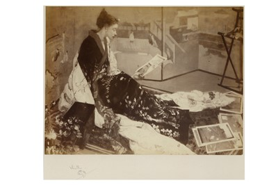 Lot 322-Whistler (James McNeill) Sepia-toned...