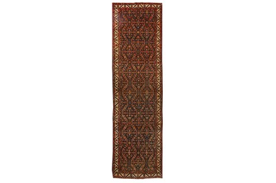 Lot 26-A FINE UNUSUAL SAROUK-FERAGHAN RUNNER, WEST...