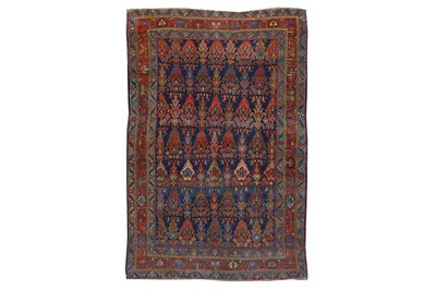 Lot 27-AN ANTIQUE BIJAR RUG, NORTH-WEST PERSIA approx;...